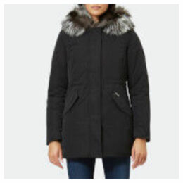 Woolrich Women's Somerset Reversible Parka - Black - L - Black
