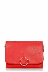 Quiz Red Ring Detail Bag