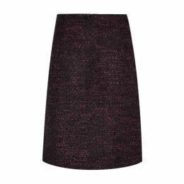 Berry Boucle ALine Skirt