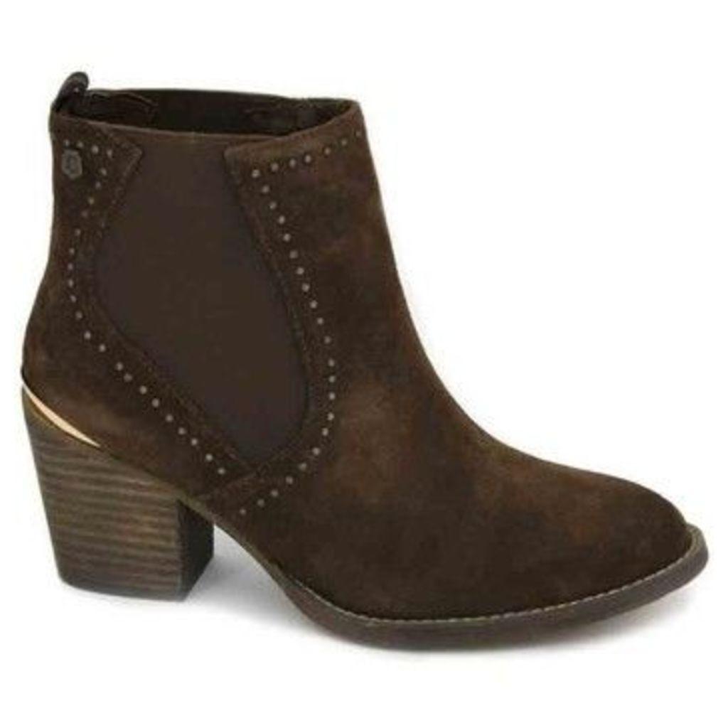 Carmela Shoes  Carmela 66399 Women's Ankle Boots  women's Low Ankle Boots in Brown