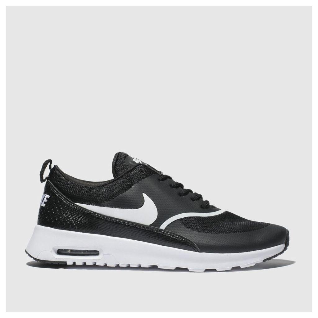 Nike Black & White Air Max Thea Trainers