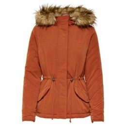 Only  PARKA  MUJER onlNEW LUKA JACKET OTW  women's Parka in Orange