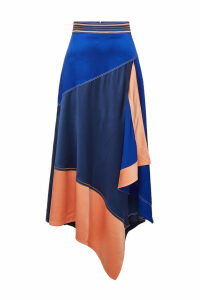 Peter Pilotto Cady Layered Midi Skirt