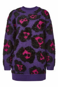 Marc Jacobs Printed Pullover with Wool and Cashmere