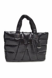 Moncler Powder Tote Bag with Leather