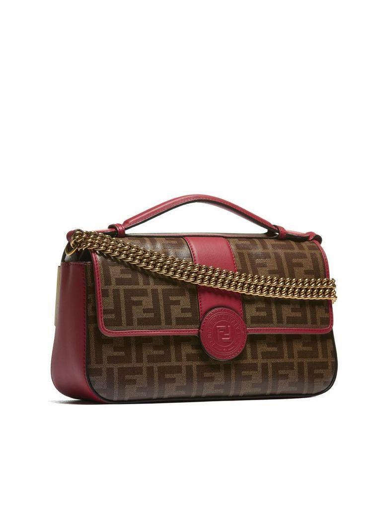 Fendi Double F Shoulder Bag