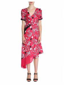 self-portrait Floral Print Midi Dress