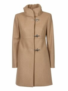 Fay Buckled Front Coat