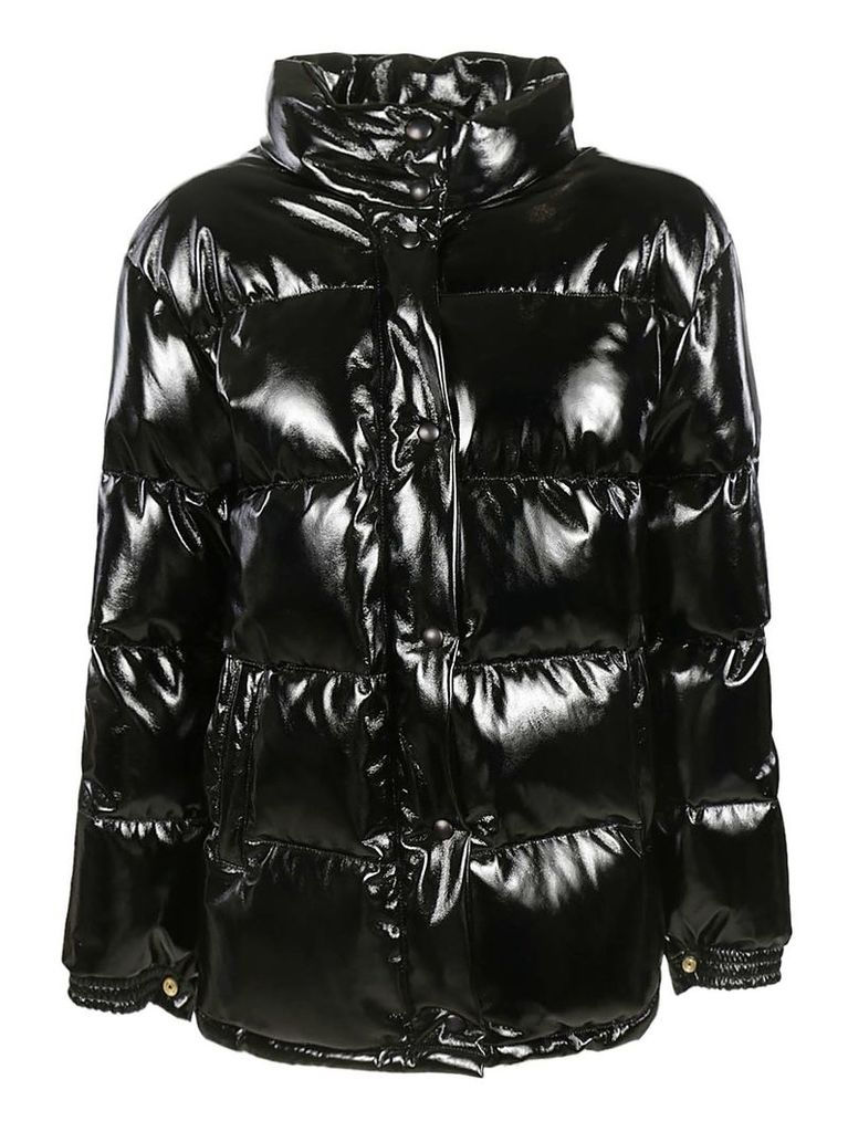 Alberta Ferretti Buttoned Padded Jacket