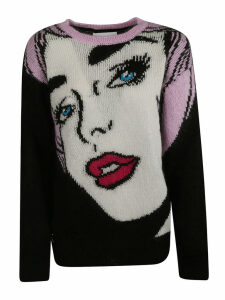 Moschino Eyes Knitted Sweater