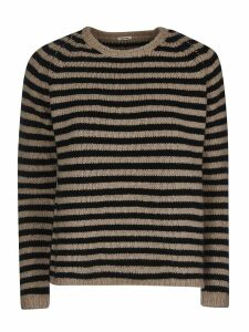 A.b Stripe Knitted Sweater