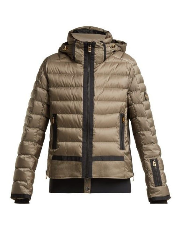 Bogner - Muriel Down Filled Padded Ski Jacket - Womens - Khaki