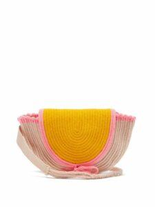 Sophie Anderson - Cara Woven Belt Bag - Womens - Yellow Multi