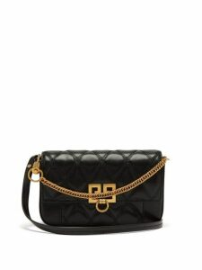 Givenchy - Pocket Quilted Leather Cross Body Bag - Womens - Black