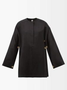 Raey - V Neck Ribbed Cashmere Sweater - Womens - Nude