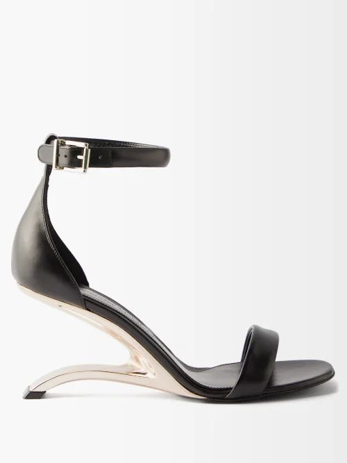 Marques'almeida - Puffed Brocade Skirt - Womens - Black Multi