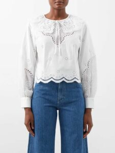 Raf Simons - Three Button Wool Blazer - Womens - Dark Navy