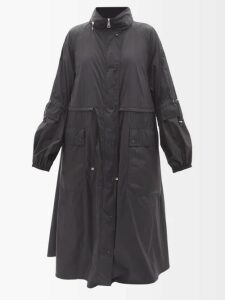 Caroline Constas - Self Tie Tiered Ruffle Skirt - Womens - Black