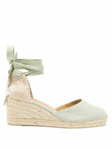 A.p.c. - Therese Raw Denim Skirt - Womens - Indigo