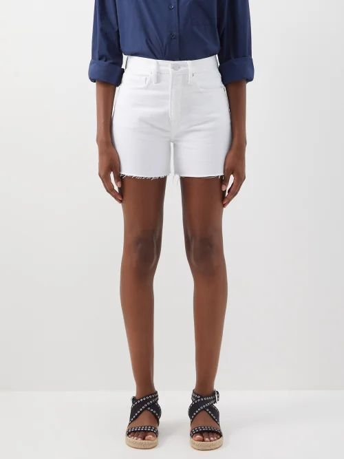 Hillier Bartley - Metallic Buttoned Faux-leather Pencil Skirt - Womens - Gold