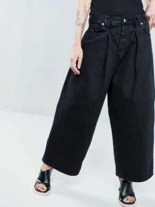Raey - Roll Neck Fine Knit Cashmere Sweater - Womens - Navy