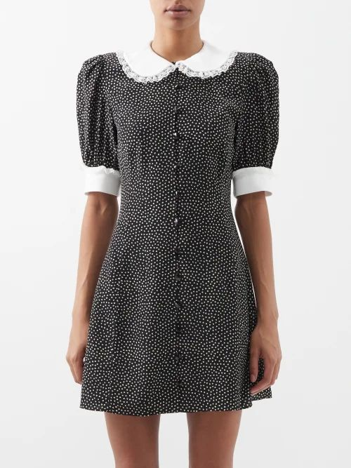 Moncler - Knitted Wool Sweater - Womens - Black Multi