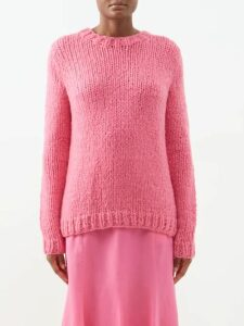Emilio De La Morena - Julietta Lace And Silk Blend Dress - Womens - Yellow