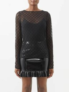 Loewe - Tie Front Hooded Shearling Coat - Womens - Beige