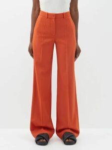 Marit Ilison - Palm Intarsia Tasselled Cotton Coat - Womens - Pink Multi