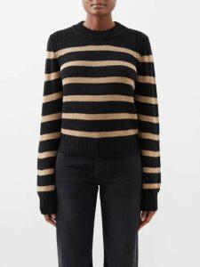Rebecca Taylor - Ruffled Velvet Mini Dress - Womens - Pink