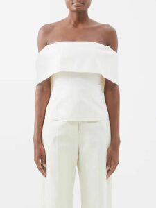 Mary Katrantzou - Bayer Dip Hem Velvet Midi Dress - Womens - Pink Multi