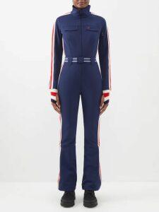 Etro - Varo Floral Print Silk Skirt - Womens - Black Print