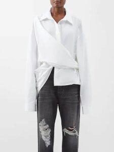 Roksanda - Cora Abstract Velvet Panel Cady Dress - Womens - Black Multi