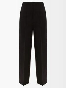 Roksanda - Eryn Crepe Midi Dress - Womens - Black Pink
