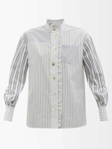 By Walid - Paris Antique Silk Dress - Womens - Pink Print