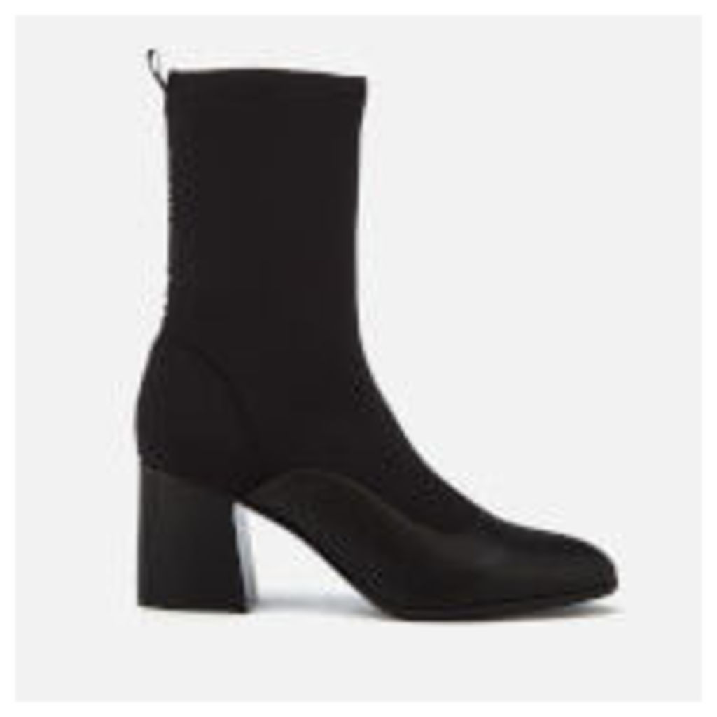 Armani Exchange Women's Heeled Sock Boots - Black