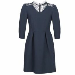 One Step  REVIA  women's Dress in Blue