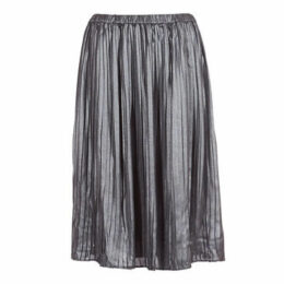 LPB Woman  SANDA  women's Skirt in Silver