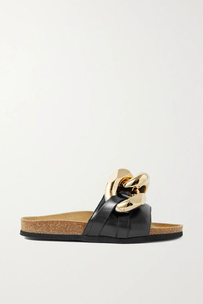 Balenciaga - Oversized Embroidered Denim Jacket - Blue