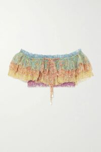 Joseph - Stafford Oversized Wool-gabardine Coat - Green