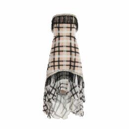 HATHAIRAT - Hathairt Goldfield Shirring Ruffle Midi Dress