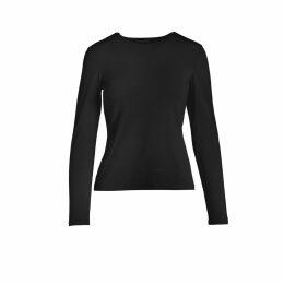 Acephala - Black Patch Layered Roll Neck Dress