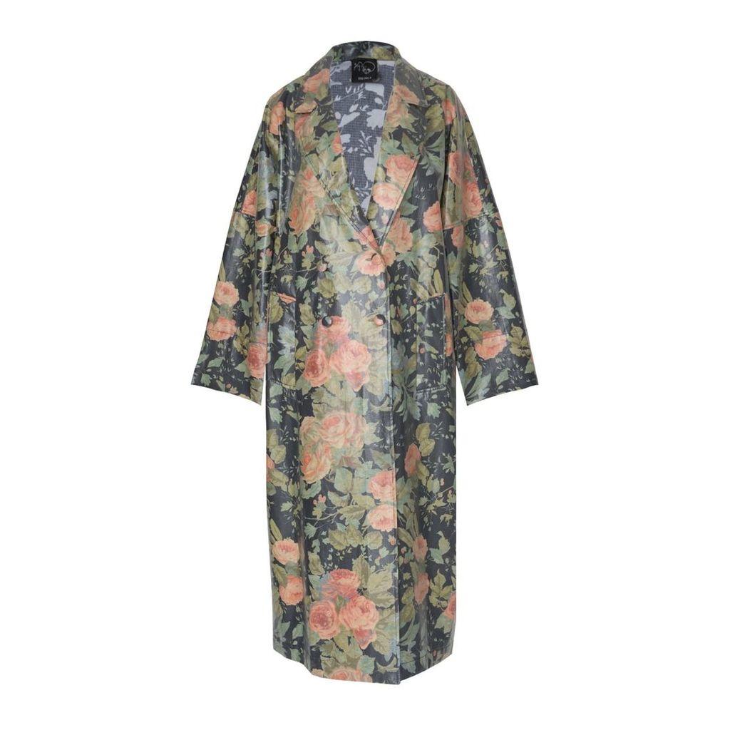 Boo Pala - Bingo Rose Trench Raincoat