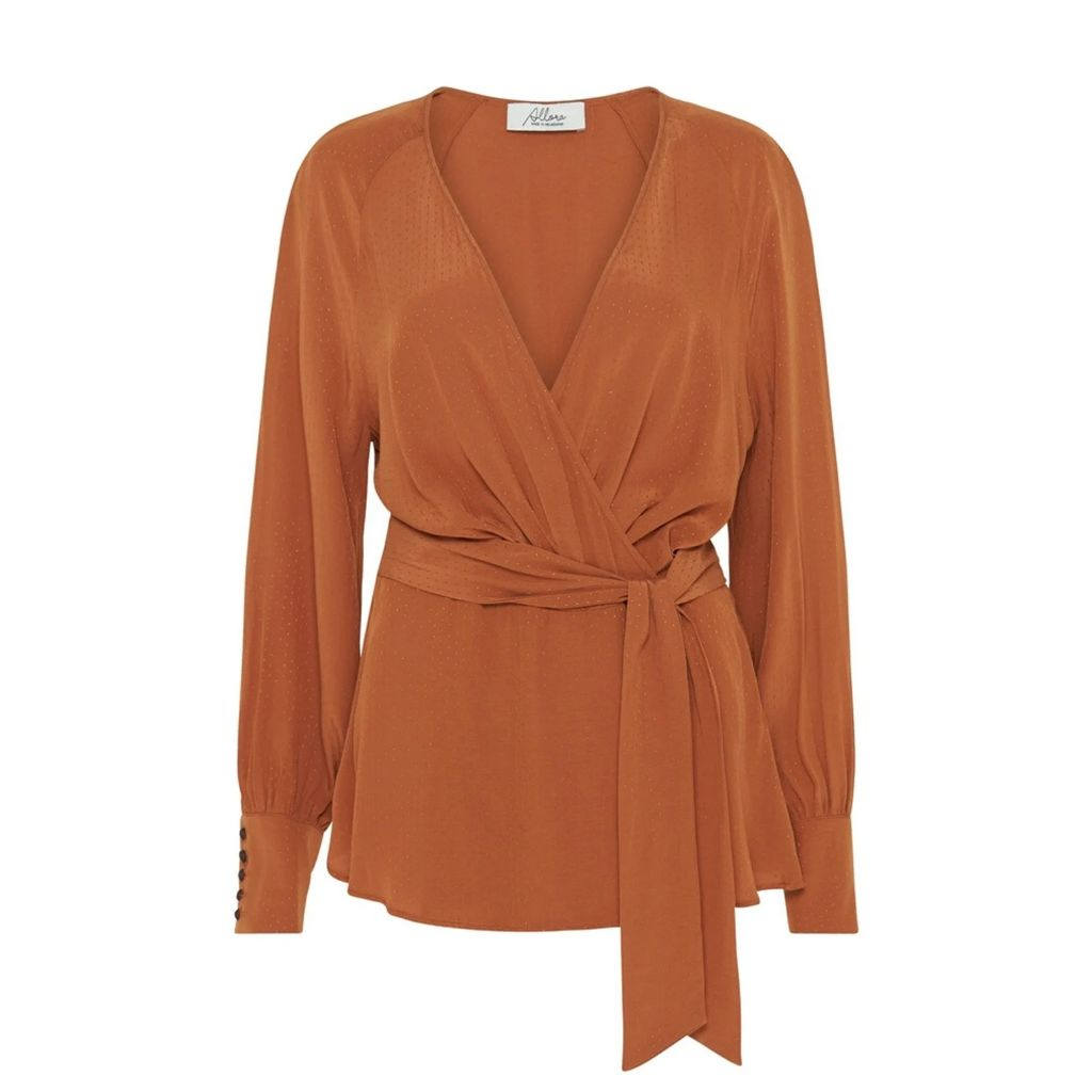Katherine Hooker - Hendre Jacket In Brown and Green Houndstooth