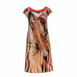 WtR - Augusta Red Embroidered Silk Blouse