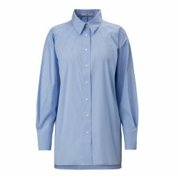 A-line Clothing - Rays Popeline Blue Shirt
