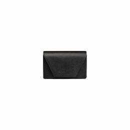 Acephala - Black Patch Roll Neck Sweatshirt Jumper