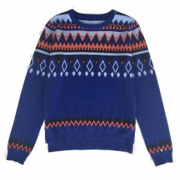 IGGY & BURT - The Abstract Fairisle Jumper