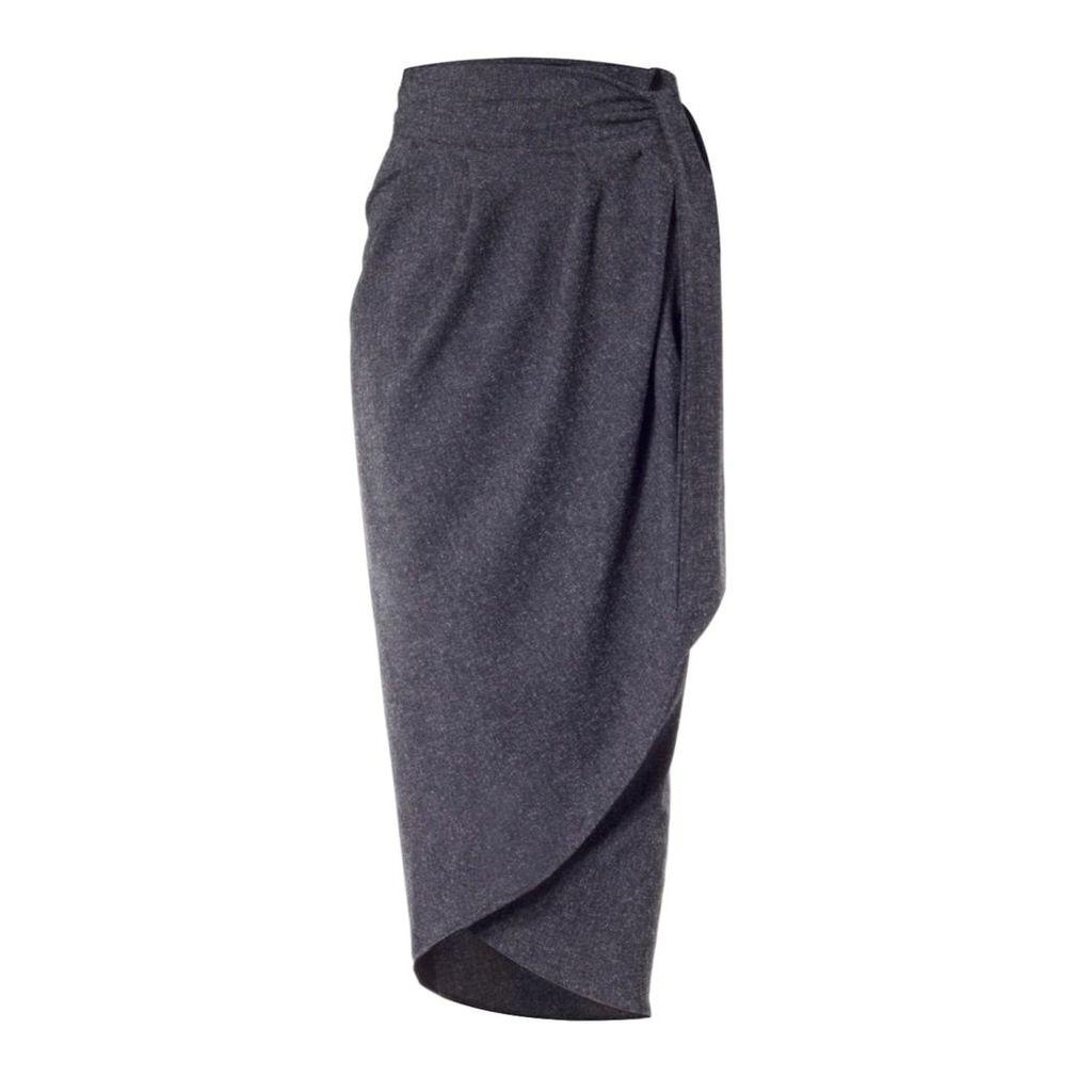 Meem Label - Blake Grey Tulip Skirt