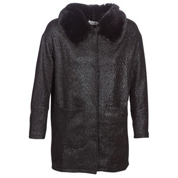 Molly Bracken  QUIEN  women's Coat in Black